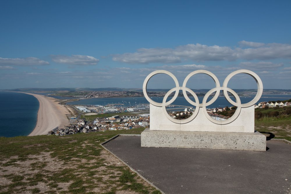 Olympic Rings From Portland Heights