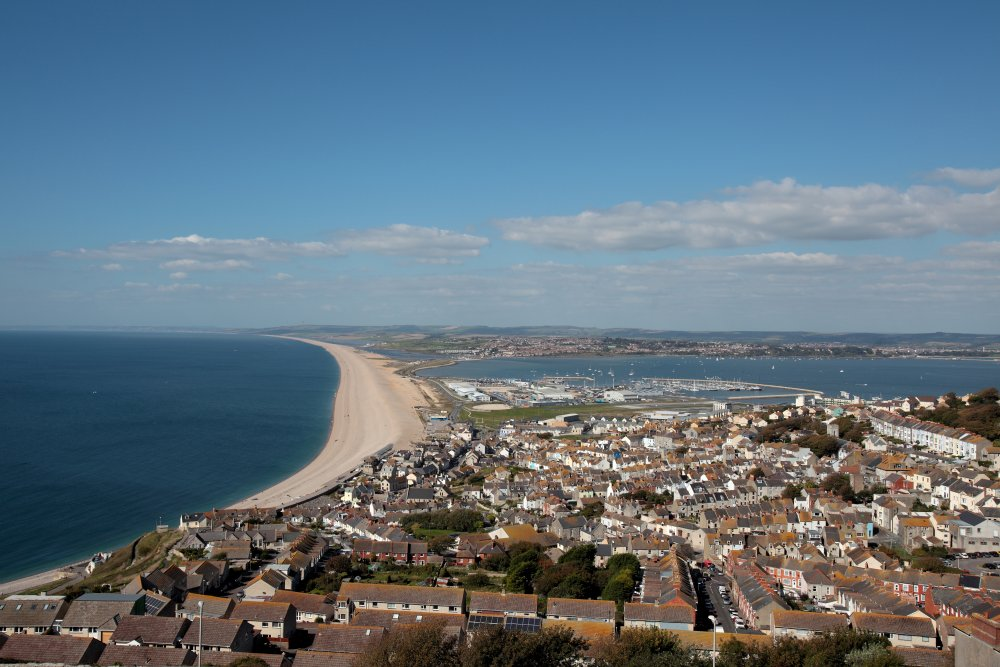 Chesil Cove View From Portland Heights